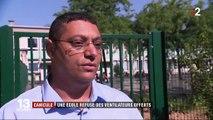 Val-de-Marne : une école refuse des ventilateurs