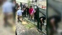 Marmaray arıza yaptı, vatandaşlar raylarda yürüdü!