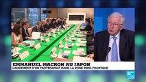 Emmanuel Macron au Japon : climat, inégalités et tensions commerciales en discussion