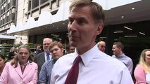 Hunt: 'PM should only make promises they can deliver'