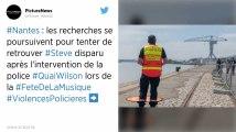 Personnes tombées dans la Loire : les recherches reprennent pour retrouver Steve Caniço
