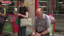 Canicule : la SNCF distribue des bouteilles d'eau aux usagers des transports (vidéo)
