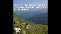 ⛰️☀️ 29°C à Val d'Isère, 32°C à Méribel, le Mont-Blanc proche des 0°C… En montagne aussi, la canicule sévit