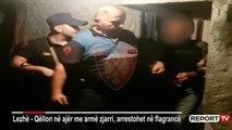 Report TV - Terrorizon banorët në Lezhë duke qëlluar në ajër, i bllokohen armët dhe granata