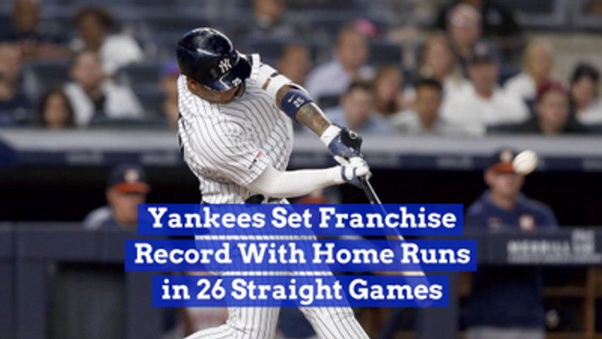 The Yankees Break A Home Run Record