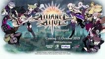 The Alliance Alive HD Remastered - Annonce de date de sortie