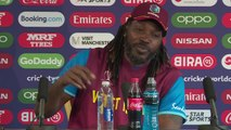 West Indies Chris Gayle pre India