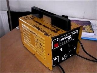sip mini 90 arc welder skip scrap find repair salvaged arc welder