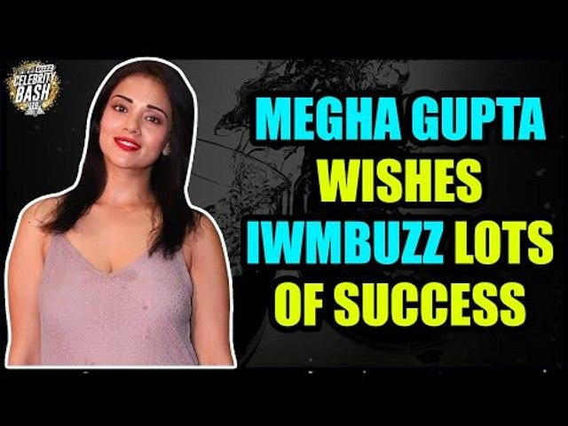 Megha Gupta wishes IWMBuzz lots of success