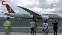 İşte THY'nin dev uçağı