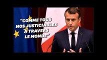 """Macron ne veut pas """"s'immiscer"""" dans l'affaire Carlos Ghosn mais veut """"protéger"""" Renault"""