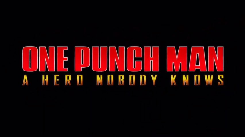 ONE PUNCH MAN: A HERO NOBODY KNOWS - Official First Trailer (Español)
