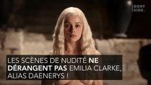 Game of Thrones : Emilia Clarke parle des scènes hot