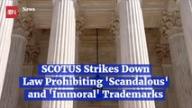 Supreme Court Stands Up For The First Amendment In Trademark Case