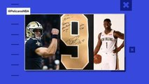 Zion Williamson receives welcome gift from Drew Brees
