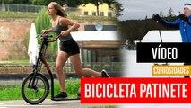 [CH] SUP Varibike, la bici patinete con los pedales en el manillar