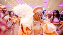 This British Nigerian Wedding Is Full Of Life, Dance, And Food