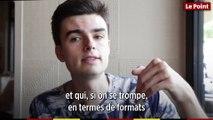 Hugo Travers, le youtubeur de 22 ans qui a déjà interviewé Emmanuel Macron