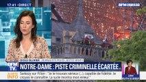 Incendie de Notre-Dame: la piste criminelle écartée