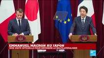 REPLAY - Conférence de presse d'Emmanuel Macron et Shinzo Abe au Japon