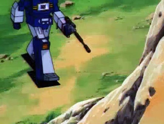 The Transformers Season 1 Episode 9 - Fire on the Mountain