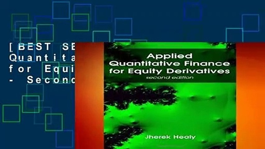 [BEST SELLING]  Applied Quantitative Finance for Equity Derivatives - Second Edition
