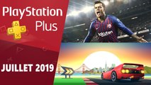 Présentation des jeux PlayStation Plus de juillet 2019