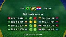 Previa partido entre Brasil y Paraguay Jornada 1 Copa América