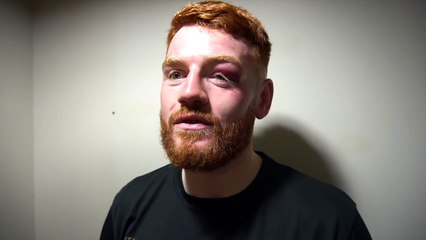 'I LOVE GETTING HIT, HEAD CLASHES, ELBOWS... I LOVE EVERY BIT OF IT' - OWEN O'NEILL IMPROVES TO 2-0