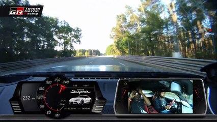 Toyota Supra : un tour du circuit du Mans onboard