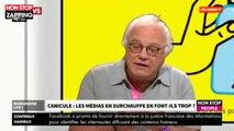 """Canicule : Laurent Cabrol pousse un coup de gueule contre les médias dans """"Morandini Live"""" (vidéo)"""
