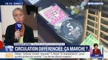 """Circulation différenciée: """"Je suis sûre que c'est la bonne décision"""", Elisabeth Borne"""