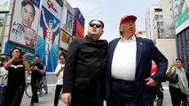 Trump et Kim en amoureux à Osaka, on y croirait... presque