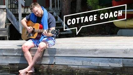 Cottage Coach Episode 1: Building a flagpole