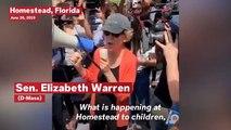 Warren Slams Trump During Visit To Florida Migrant Detention Center: 'We Must Speak Out'