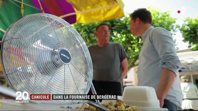 Canicule : une journée dans la fournaise de Bergerac