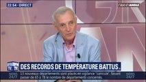 """Canicule: le climatologue Jean Jouzel constate que """"les températures records augmentent deux fois plus vite que les températures moyennes"""""""