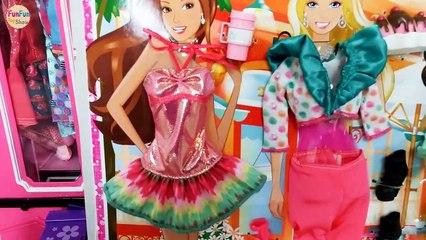 Barbie Rapunzel Mermaid Ariel doll Shower Morning New Dress Putri duyung mandi Sereia Chuveiro | Karla D.