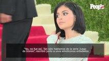 Molesta, Kylie Jenner contesta así al prometido de JLo por contar sus conversaciones privadas