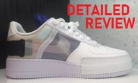 N.354 Nike Air Force 1 Low Sneaker an Off White Knockoff Or  AWESOME