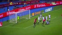 CAN2019 (26/06) - EGY / RDC - Les buts d'Elmohamady et de Mo Salah (2-0) - 1ère mi-temps