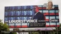 Conservatives Hijack Showtime's 'The Loudest Voice' Billboard in Los Angeles | THR News