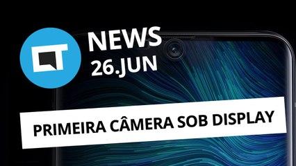 """Oppo: primeira """"câmera embaixo da tela"""" do mundo [CT News]"""