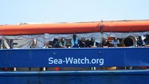 Why did Sea-Watch 3 decide to enter Italian territorial waters?