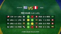 Previa partido entre Uruguay y Perú Jornada 1 Copa América