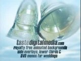 Wedding backgrounds, video loops and motion clips