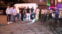 ÜMRANİYE'DE POLİSTEN KAÇARKEN 4 KİŞİYE ÇARPTI