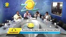 Consuelo Despradel recibe llamadas con aportes para la fundación Amigos Contra el Cáncer Infantil