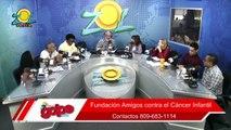 Milly Quezada pide apoyar la fundación Amigos contra el Cáncer Infantil casa Facci