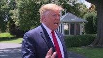 """""""J'ai horreur de ça."""" Donald Trump réagit à la photo de migrants noyés et accuse les démocrates"""